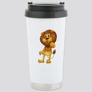 King Of The Castle Stainless Steel Travel Mug