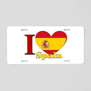 I love Spain - Espana Aluminum License Plate