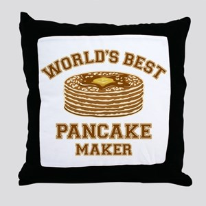 Best Pancake Maker Throw Pillow
