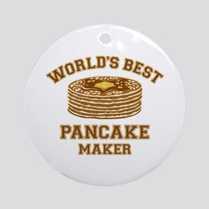Best Pancake Maker Ornament (Round)
