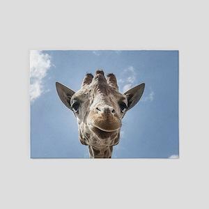 Cool Giraffe 5'x7'Area Rug