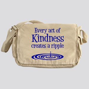 KINDNESS RIPPLE Messenger Bag