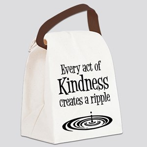 KINDNESS RIPPLE Canvas Lunch Bag