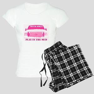 Truck Girls Play In The Mud Pajamas
