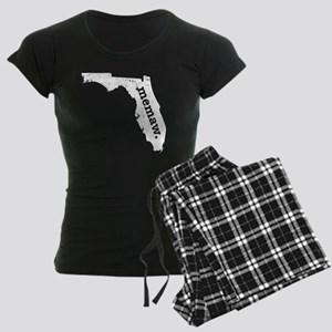 Best Memaw Florida Grandma Pajamas