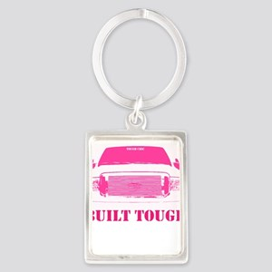 Pink Built Tough Keychains