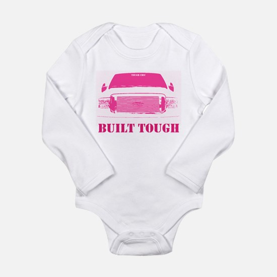 Pink Built Tough Body Suit
