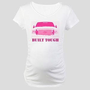 Pink Built Tough Maternity T-Shirt