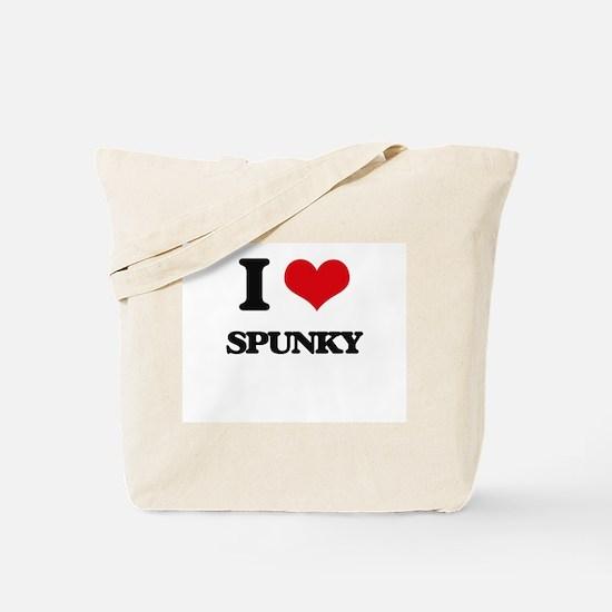 I love Spunky Tote Bag