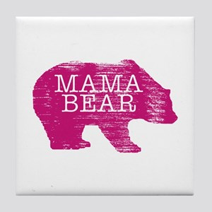 MaMa Bear Tile Coaster