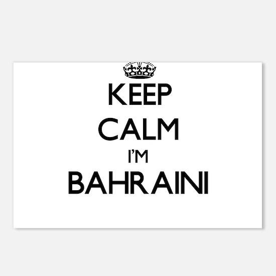Keep Calm I'm Bahraini Postcards (Package of 8)