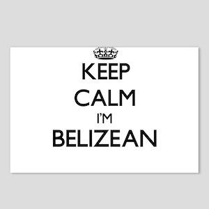 Keep Calm I'm Belizean Postcards (Package of 8)