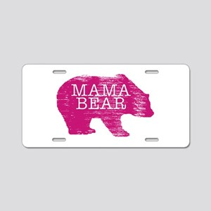 MaMa Bear Aluminum License Plate