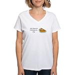 Christmas Pie Women's V-Neck T-Shirt