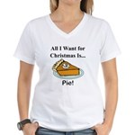 Christmas Pie Women's V-Neck T-Shirt