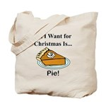 Christmas Pie Tote Bag