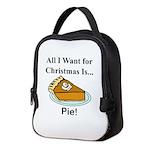 Christmas Pie Neoprene Lunch Bag