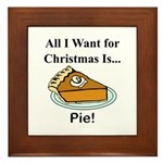 Christmas Pie Framed Tile
