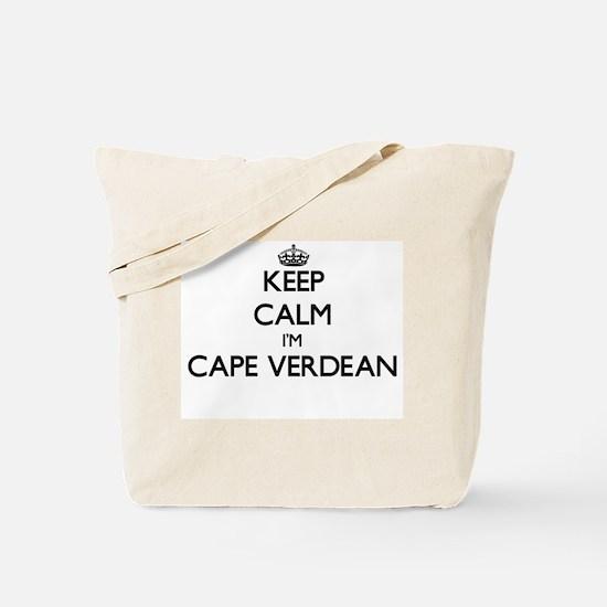 Keep Calm I'm Cape Verdean Tote Bag