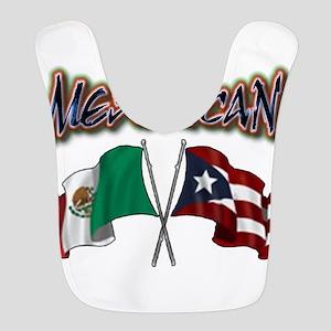 MexiRican Flags centered Bib