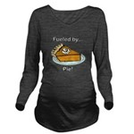 Fueled by Pie Long Sleeve Maternity T-Shirt