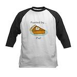 Fueled by Pie Kids Baseball Jersey