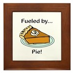 Fueled by Pie Framed Tile