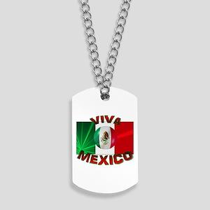 Mexico-flag3 Dog Tags