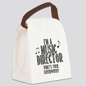 Music Director Canvas Lunch Bag