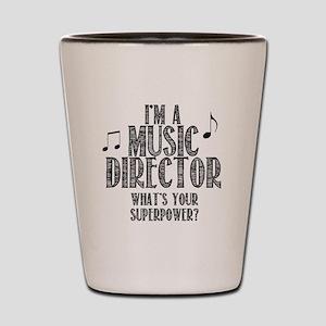 Music Director Shot Glass