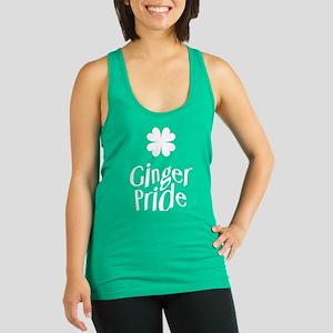 Ginger Pride - St Patricks Day Racerback Tank Top