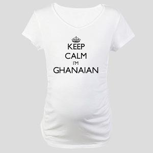 Keep Calm I'm Ghanaian Maternity T-Shirt