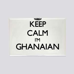 Keep Calm I'm Ghanaian Magnets