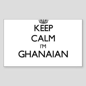 Keep Calm I'm Ghanaian Sticker