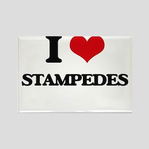 I love Stampedes Magnets