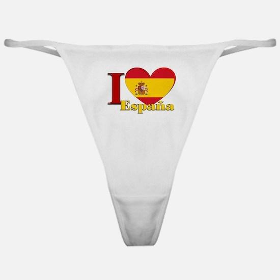 I love Espana - Spain Classic Thong