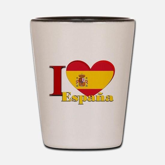 I love Espana - Spain Shot Glass
