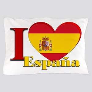 I love Espana - Spain Pillow Case
