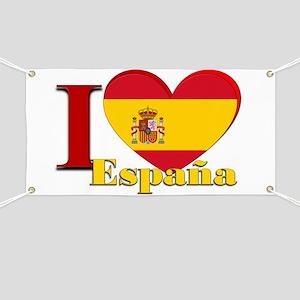 I love Espana - Spain Banner