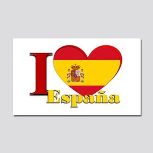 I love Espana - Spain Car Magnet 20 x 12