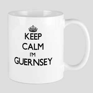 Keep Calm I'm Guernsey Mugs