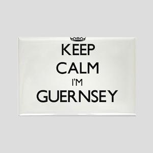 Keep Calm I'm Guernsey Magnets