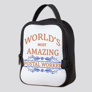 Postal Worker Neoprene Lunch Bag