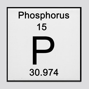 Periodic table phosphorus coasters cafepress phosphorus tile coaster urtaz Image collections