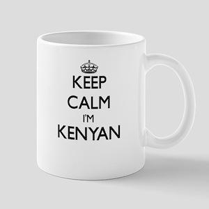 Keep Calm I'm Kenyan Mugs