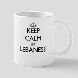 Keep Calm I'm Lebanese Mugs
