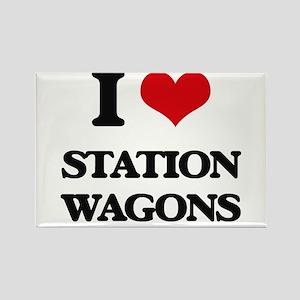 I love Station Wagons Magnets