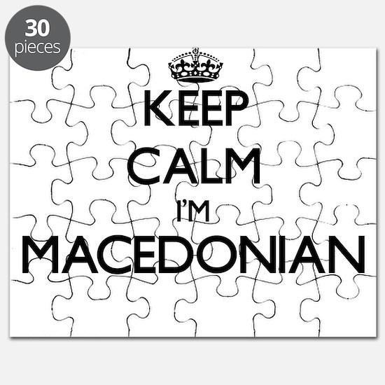 Keep Calm I'm Macedonian Puzzle