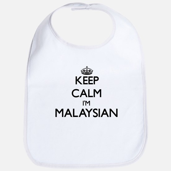 Keep Calm I'm Malaysian Bib