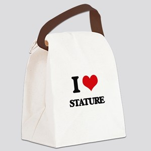 I love Stature Canvas Lunch Bag